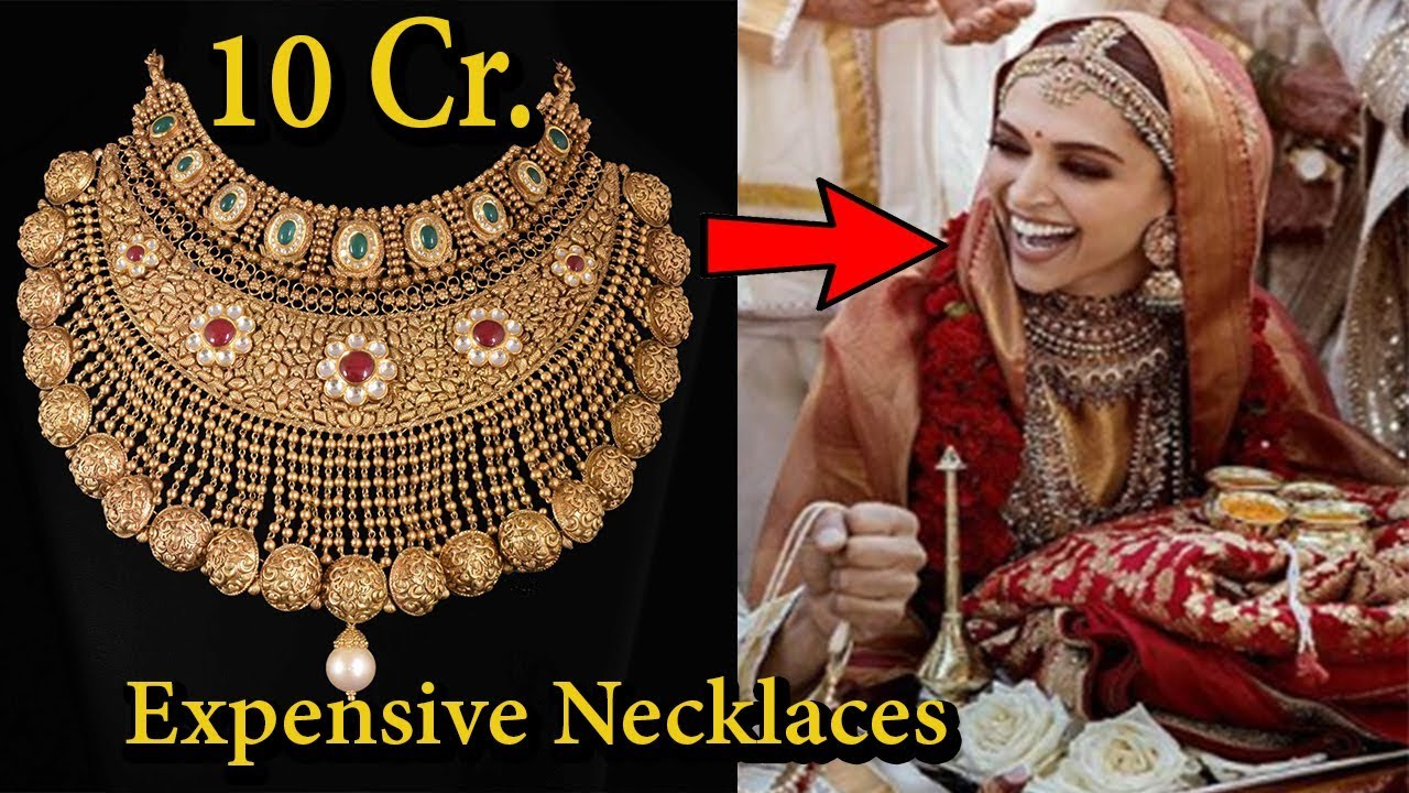 9 Most Expensive Wedding Necklaces Of Bollywood Actress I2018