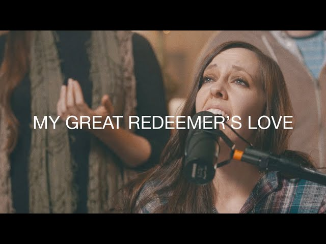 Shelly E. Johnson - My Great Redeemer's Love (LIVE)
