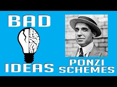 Charles Ponzi and his Schemes | Bad Ideas #17