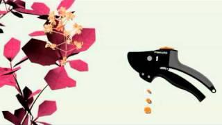 Секатор с храповым механизмом Fiskаrs(Садовое оборудование Хускварна - http://td-tehniks.com.ua Секаторы садовые - http://td-tehniks.com.ua/sekatory#page Секатор с храповым..., 2011-02-19T18:00:07.000Z)