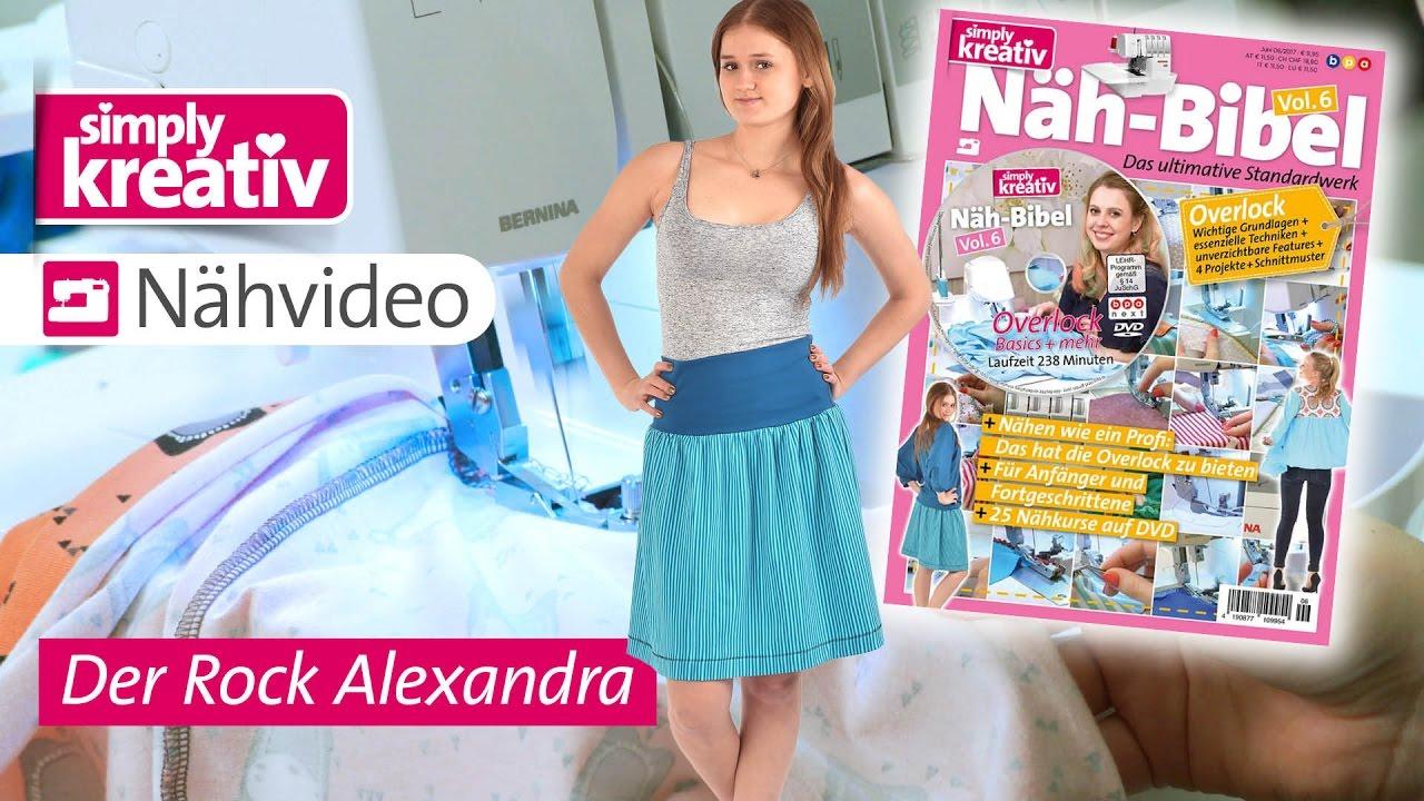 Näh-Bibel Vol. 6 – Der Rock Alexandra - YouTube