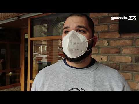 Las hostelería de Vitoria-Gasteiz reabre con incertidumbre