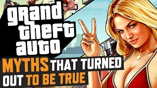 GTA Myths That Turned Out To Be True