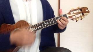 NHK連続TV小説「あさが来た」主題歌、AKB48の365日の紙飛行機をウクレレで...