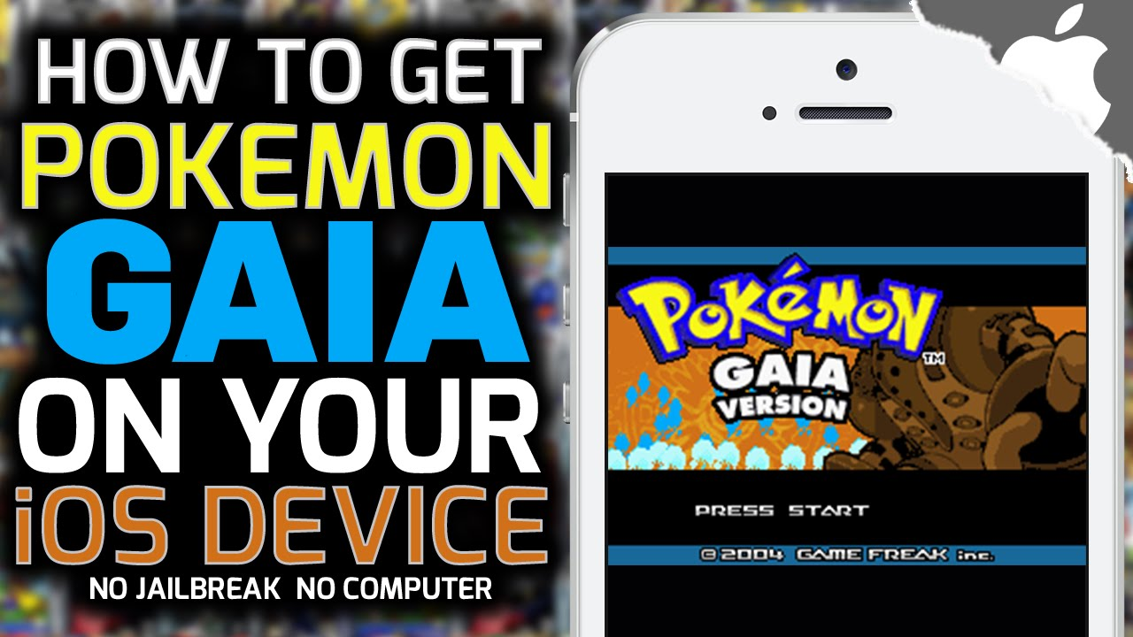 get pokemon on iphone gba4ios how to get gaia no computer no 14188