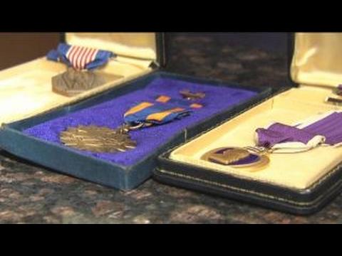 Stolen war medals returned to Vietnam veteran