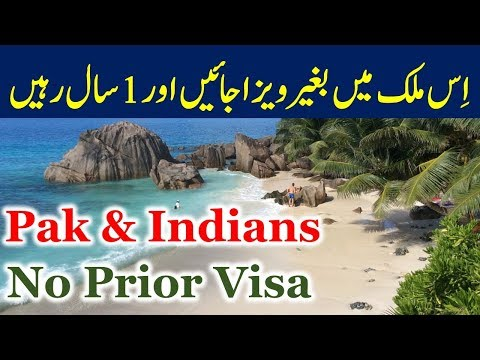 Visa on Arrival Country for Pakistanis and Indians.