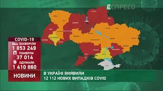 Коронавірус в Украі ні статистика за 11 квітня