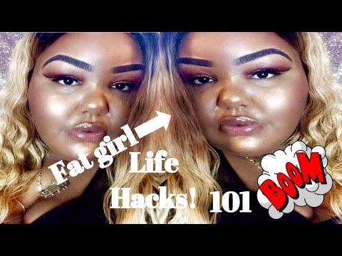 🤔REAL Fat Girl Life Hacks | 101