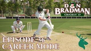 DON BRADMAN CRICKET 17 | CAREER MODE #36 | NZ FIRST CLASS DEBUT!