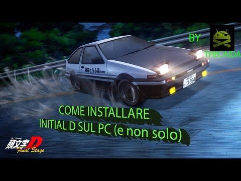 INITIAL D Sul PC Con Emulatore Ps2 + Configurazione Perfetta (compatibile Con Tutti I Giochi Ps2)