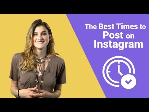 The Best Times To Post On Instagram