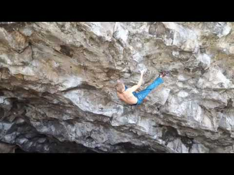 Alex Megos FA of Louis Cut 8B+