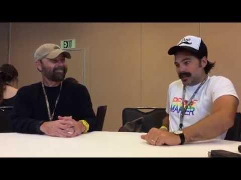 Wynonna Earp's Tim Rozon & Beau Smith 2016 SDCC Roundtable Interview
