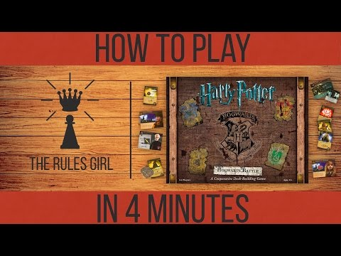 How To Play Harry Potter Hogwarts Battle In 4 Minutes The Rules