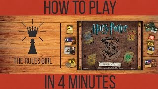 How to Play Harry Potter Hogwarts Battle in 4 Minutes - The Rules Girl