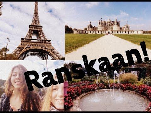 RANSKA (My week/kouluprojekti)