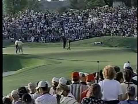 Bob May vs. Tiger Woods - 2000 PGA Championship Playoff - Part 3