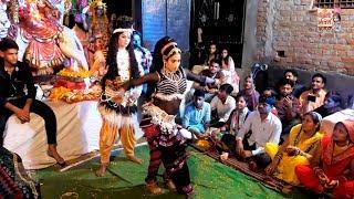 शिव पार्वती का जबरदस्त झांकी डांस || Amazing Dance Of God Shiv Parvati || Shiv Parvati Jhanki