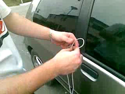 A Method how to unlock your car in 10 seconds :)