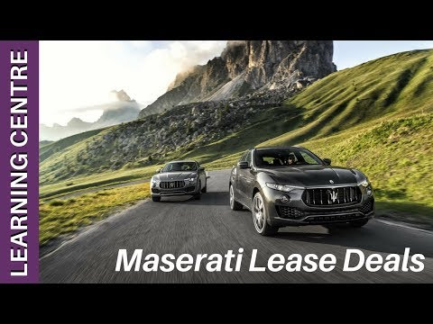 Maserati Lease Deals: Top 3 Models Too Consider   OSV Learning Centre
