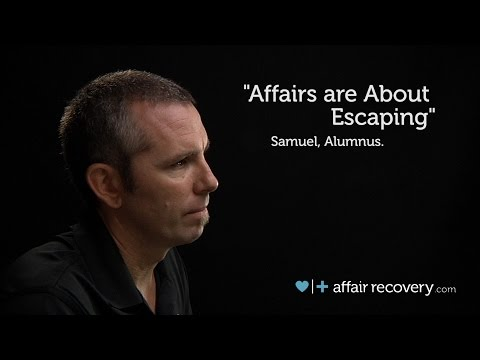 Affairs are About Escaping