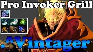 Dota 2 - .^Vintager 6000MMR Pro Invoker Girl vol 4 - Subscriber Ranked Gameplay
