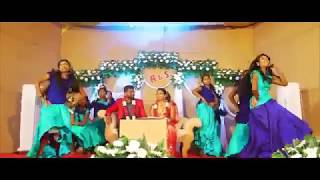 SREE GANANATHAM WEDDING WELCOME DANCE BRIDE FOR BOOKING CONTACT 9633277940  9633203826