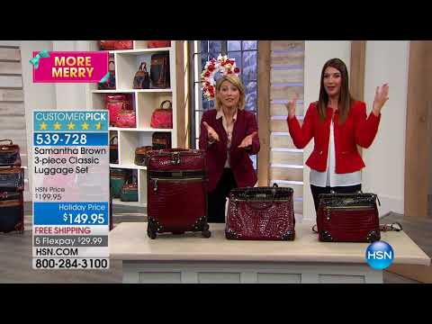 HSN | Samantha Brown Holiday Travel 12.10.2017 - 08 AM