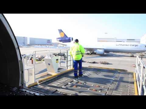 Lufthansa Technik and Cargo In Frankfurt Airport