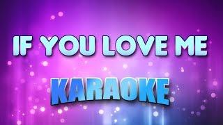 Mint Condition - If You Love Me (Karaoke & Lyrics)