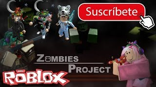 Game MMC Zombies in roblox! and we lost as usual :v