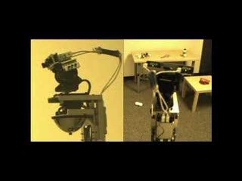 Omnidirectional Camera for Laser Pointer Detection