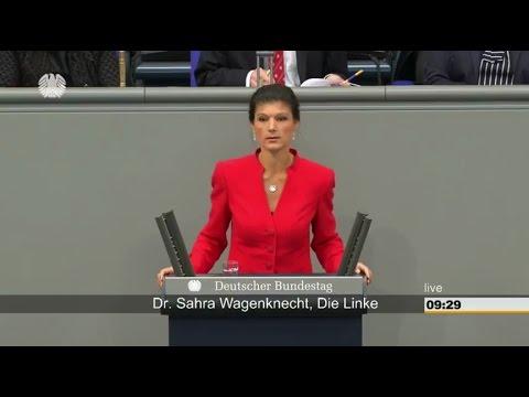 Die EU-Erfolgsgeschichte ist eine Farce - Sahra Wagenknecht (Die Linke) 27.04.2017 - Bananenrepublik