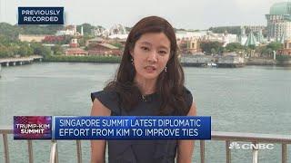 Singapore summit latest diplomatic effort from Kim to improve ties   Trump-Kim Summit