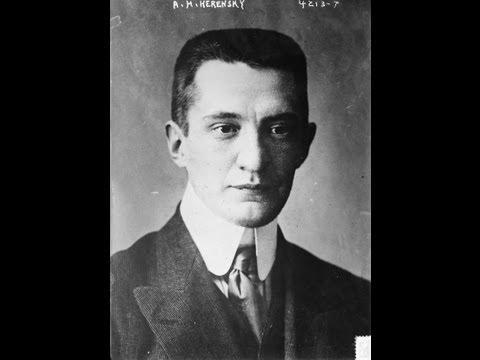 видео: Забытый вождь. Александр Керенский.