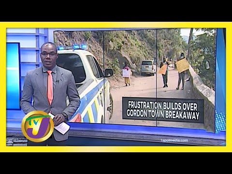 Frustration Grows Over Gordon Town Road Breakaway in Jamaica   TVJ News