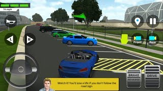 Car Driving & Parking School - New Sports Car Unlocked | Car Driving Games - Android & IOS GamePlay