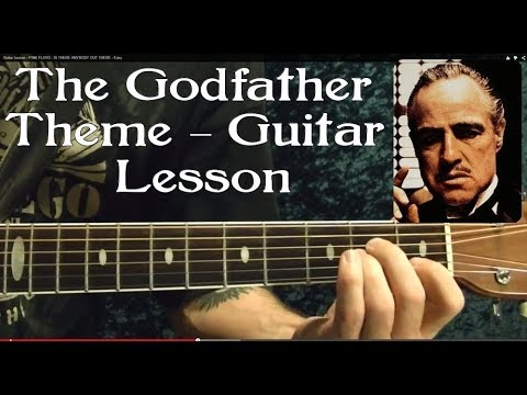 The GODFATHER THEME -  Easy Guitar Lesson ♫ ♪ ♫ ♪