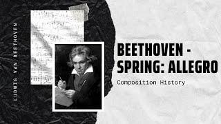 Beethoven - Spring: Allegro