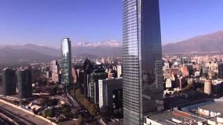 AEROVISION.cl VIDEO AÉREO COSTANERA CENTER:GRABACIÓN AÉREA