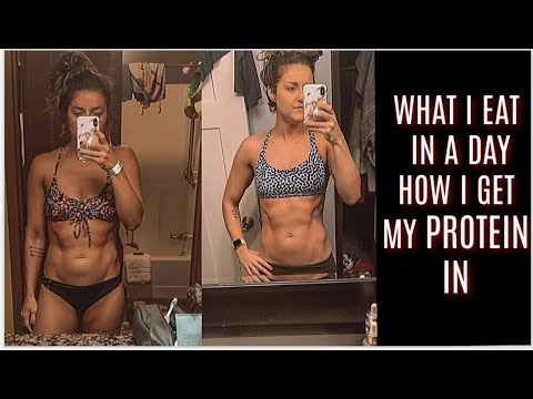 WHAT I EAT IN A DAY | HOW I GET 130G PROTEIN |