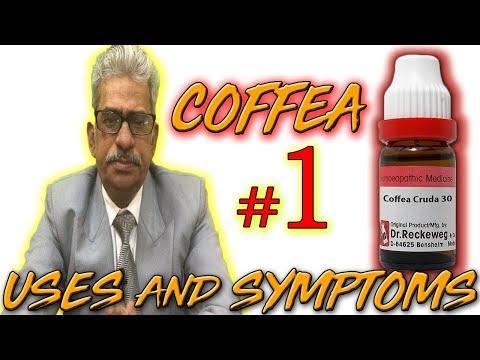 Coffea in Hindi (Part 1) - Uses & Symptoms by Dr P. S. Tiwari