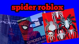 Spider man new game cool sur roblox pour Android et PC