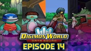 Digimon World Data Squad - Ep 14 - Kamemon Quests of Yushima