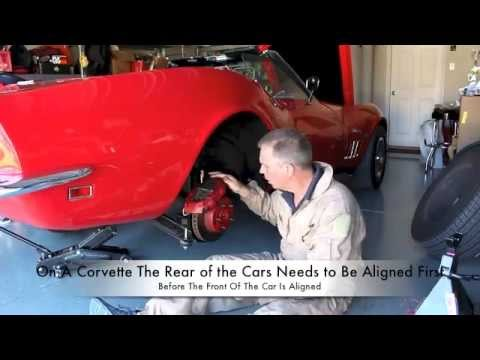 How To Do A Rear Wheel Alignment (Part- 1), on a C3 Corvette (Part 1 of 2). Corvette Hop