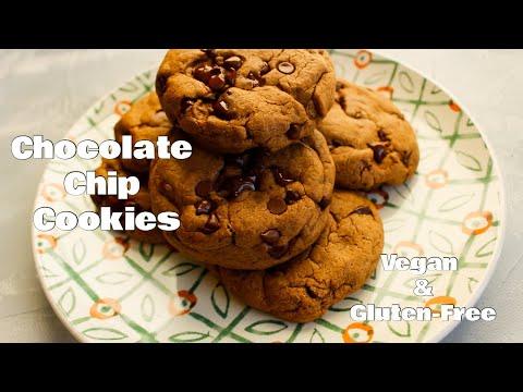 Chocolate Chip Cookie Recipe | Vegan & Gluten Free!
