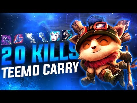 THIS TEEMO BUILD IS ACTUALLY SOOO GOOD!!!