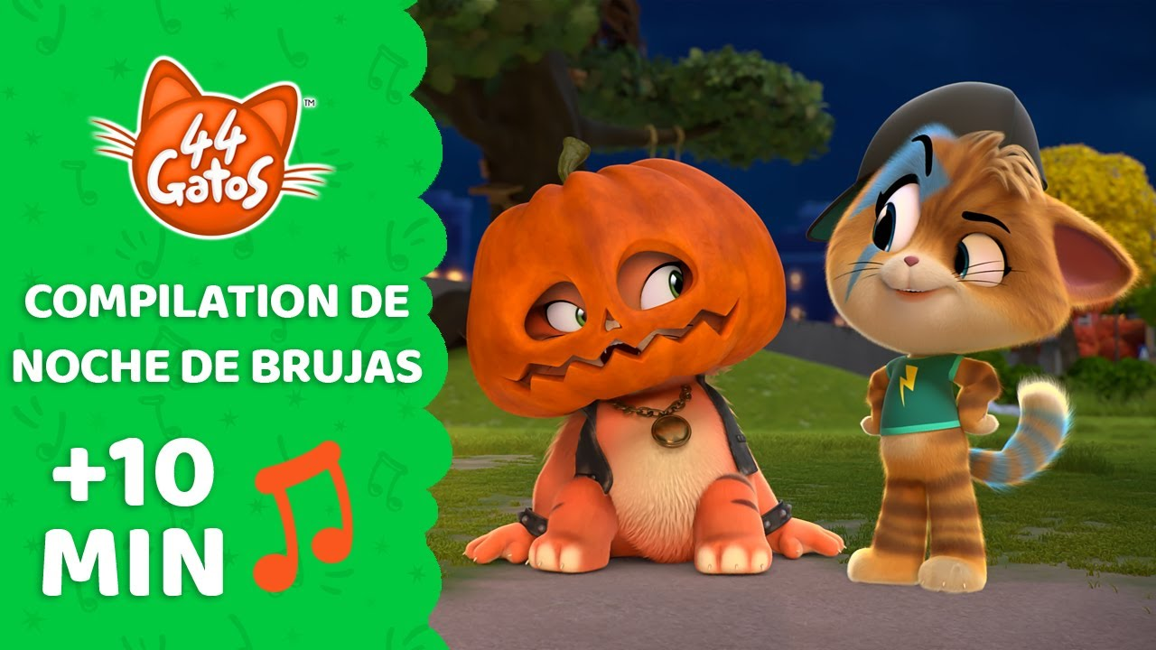 44 Gatos   Latinoamérica   El gato fantasma y otras canciones para celebrar la Noche de Brujas