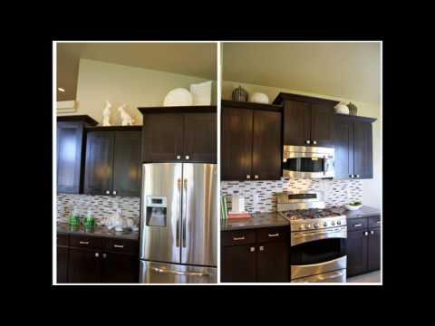 Ideen für die dekoration über küchenschränke